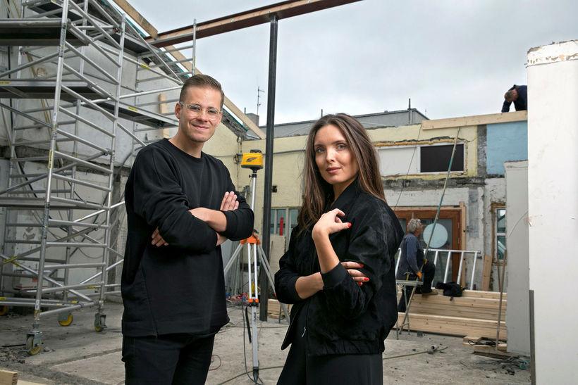 Hafsteinn Júlíusson og Karítas Sveinsdóttir.