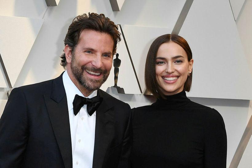 Bradley Cooper og Irina Shayk hættu saman í vor eftir ...