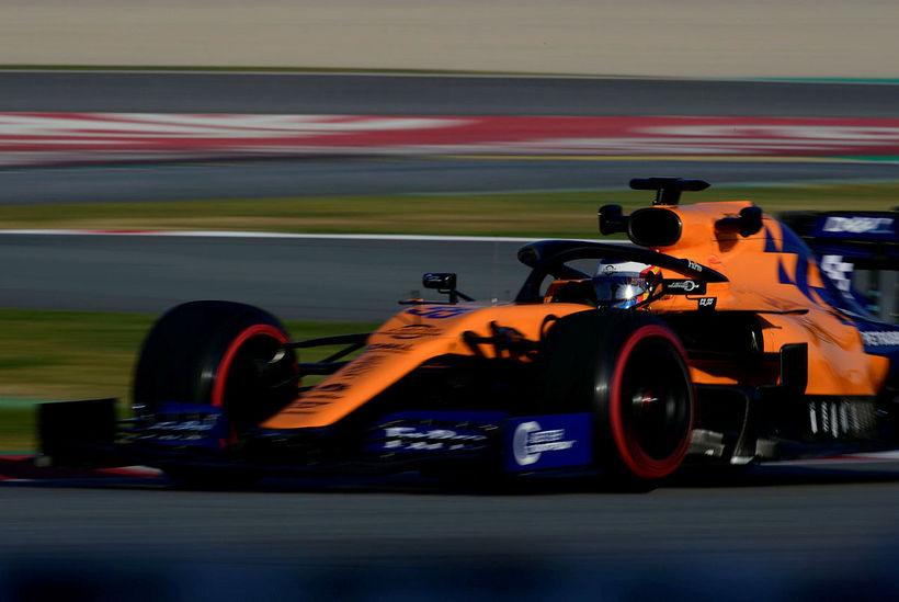 Ef allt er með felldu virðist McLaren hafa bætt bíl ...