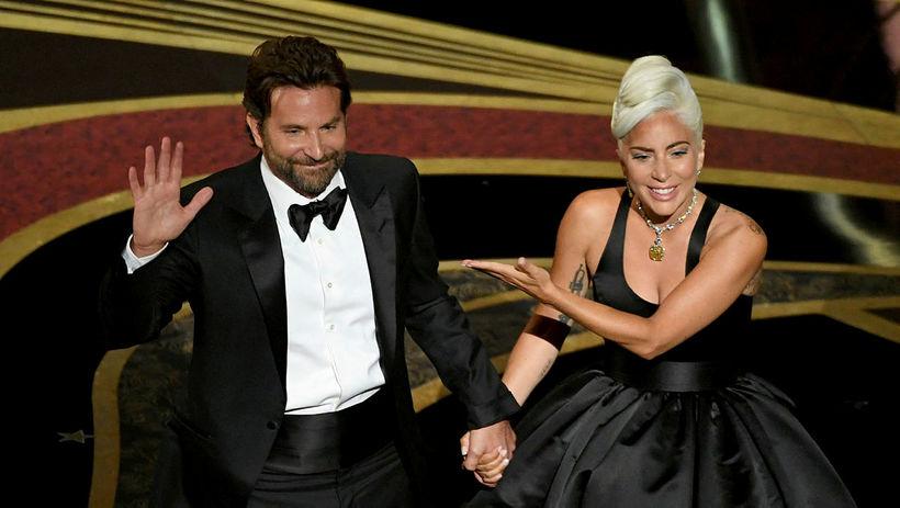 Bradley Cooper og Lady Gaga.