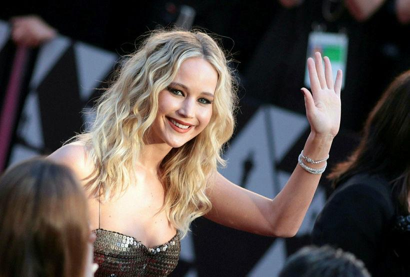 Jennifer Lawrence er í góðu formi.