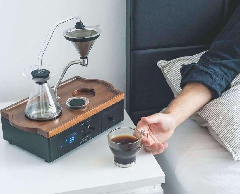 Hvað er betra en að teygja sig í nýuppáhellt kaffi?