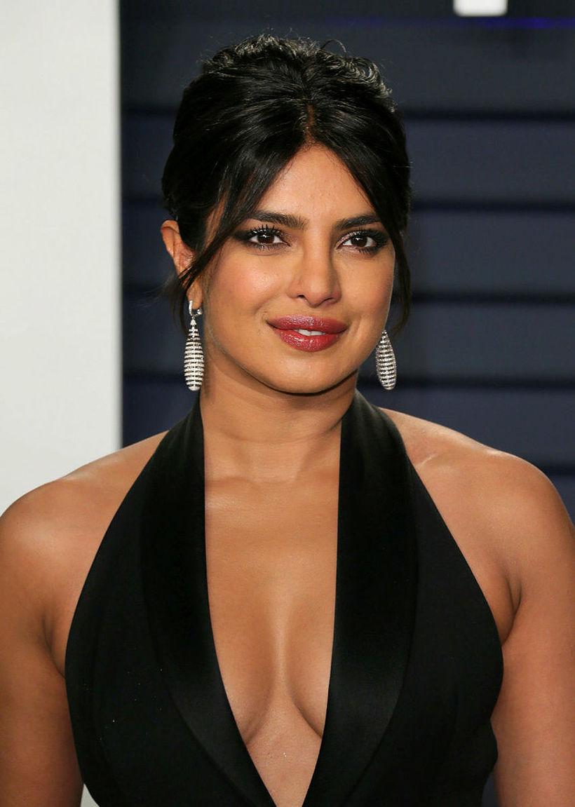 Priyanka Chopra með förðun Pati Dubroff.