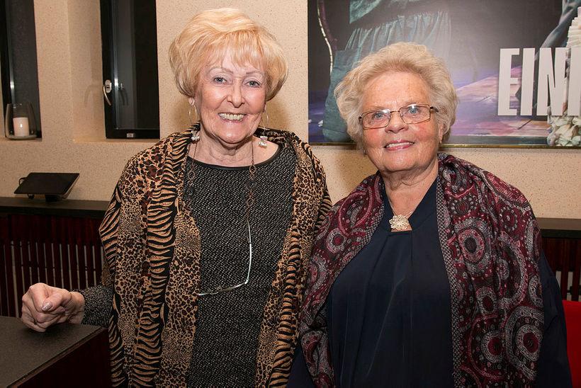Hjördís Gunnarsdóttir og Hafdís Þórólfsdóttir.