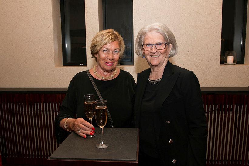 Rut Árnadóttir og Hulda G. Mogensen.