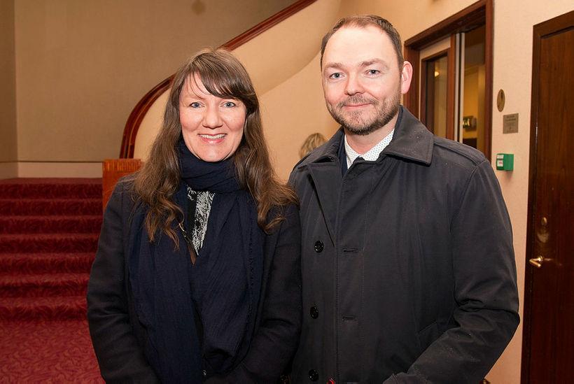 Anna Halldórsdóttir og Ólafur Björn Gunnarsson.