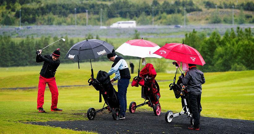 Veðurfarið getur haft áhrif á golftímabilinu, en breyting á staðartíma ...