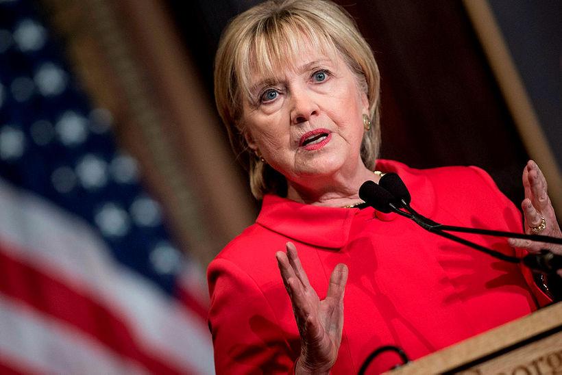 Hillary Clinton, fyrrverandi utanríkisráðherra og öldungadeildarþingmaður New York.