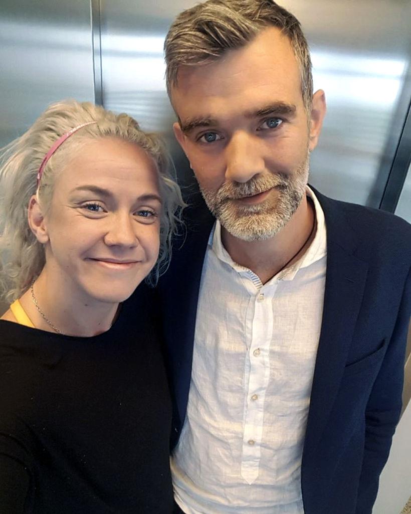 Kristín segir Stefán Karl hafa haft djúpstæð áhrif á sig.