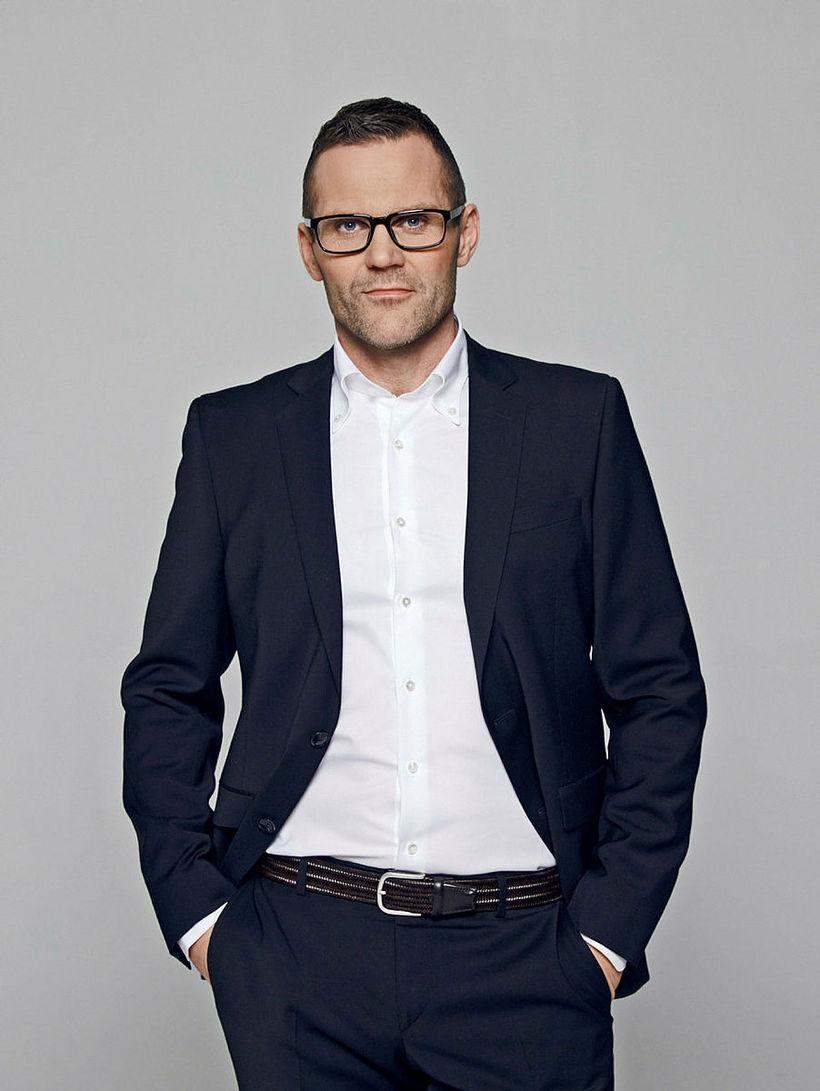 Hannes Steindórsson fasteignasali á Lind fasteignasölu.