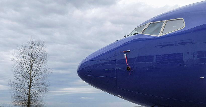 Vél af gerðinni 737 MAX 8.