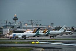 Changi-flugvöllurinn í Singapore. Flugmálayfirvöld í ríkinu hafa kyrrsett allar Boeing 737-vélar af Max-gerðinni.