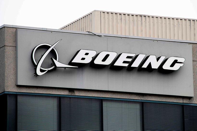Hlutabréf í Boeing hafa lækkað mikið. Flugfélög á borð við ...
