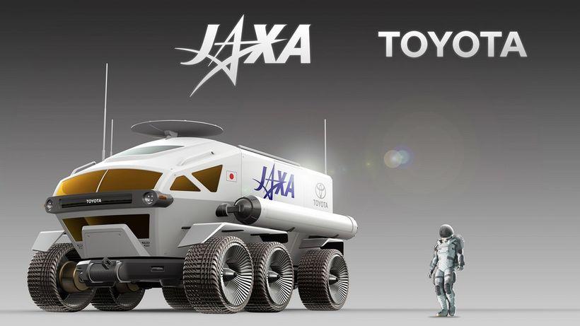 Hugmynda tungljeppi Toyota sem á að hefja starfsemi á tunglinu ...