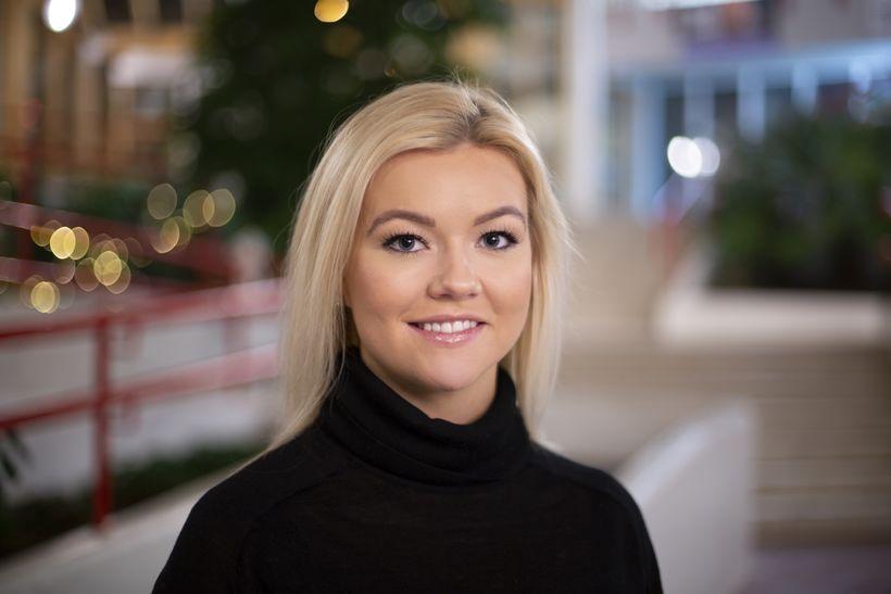 Jóna Þórey Pétursdóttir, president of the University of Iceland Student …