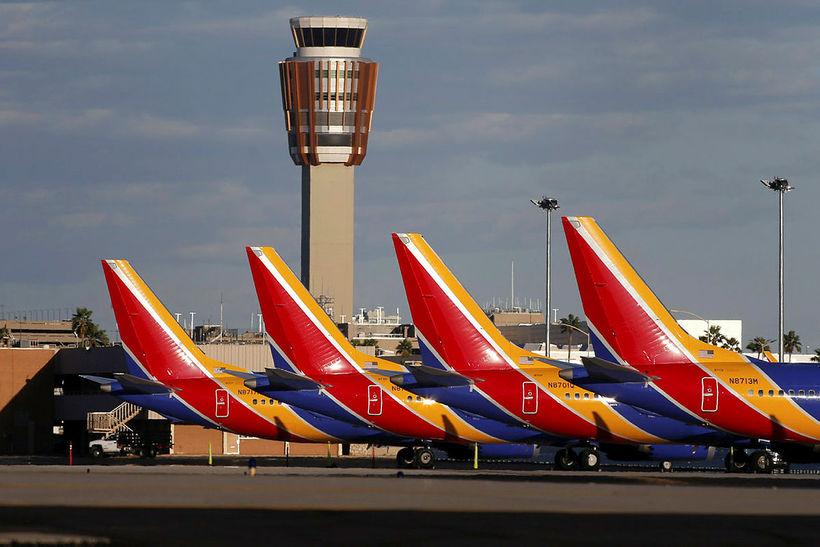 Boeing 737 Max 8-þotur hafa verið kyrrsettar af bandarískum flugmálayfirvöldum.