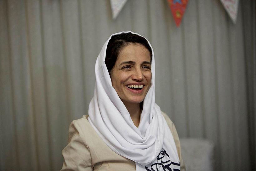 Nasrin Sotoudeh er mannréttindalögfræðingur.