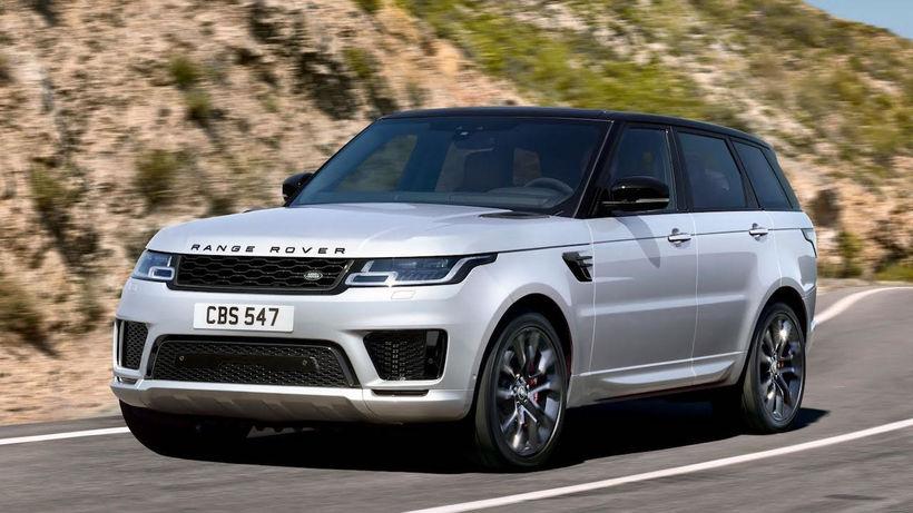 Nýja Ingeniumvélin verður til að byrja með í Range Rover ...