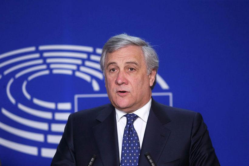 Antonio Tajani, forseti þings Evrópusambandsins.