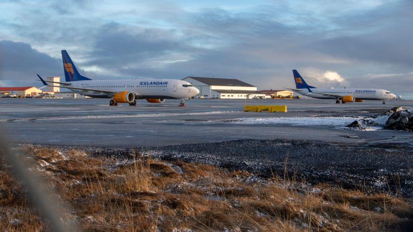 Icelandair hefur þegar fengið sex 737 Max-vélar afhentar frá Boeing ...