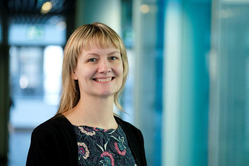 Dr. Erna Sif Arnardóttir, rannsóknasérfræðingur við HR og Landspítala, leiðir ...