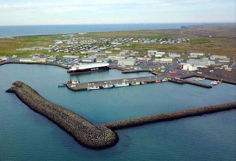 Hafnarnes Ver er einn stærsti vinnuveitandinn í Þorlákshöfn.