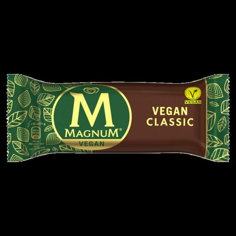Hinn vinsæli Magnum-ís er nú fáanlegur sem vegan.