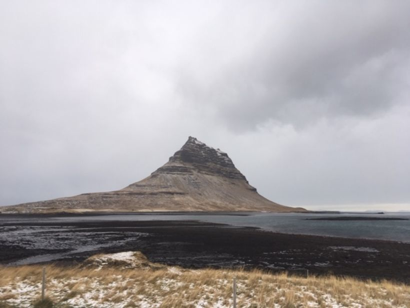 Mount Kirkjufell, Iceland's most photographed mountain.