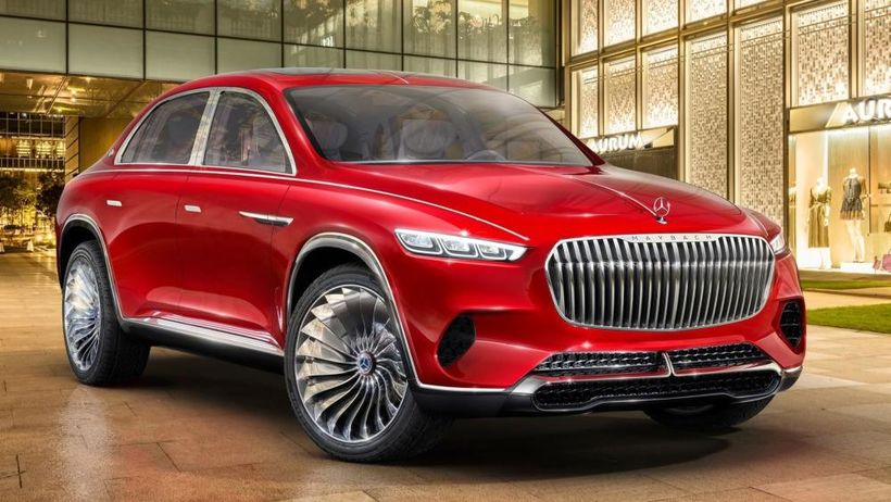 Mercedes Maybach Vision Ultimate Luxury hugmyndabíllinn.