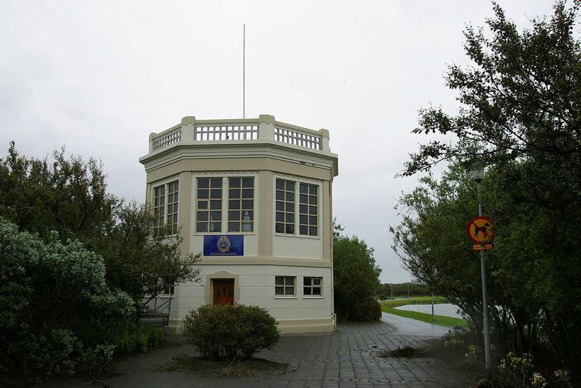 Hljómskálinn í Hljómskálagarði.