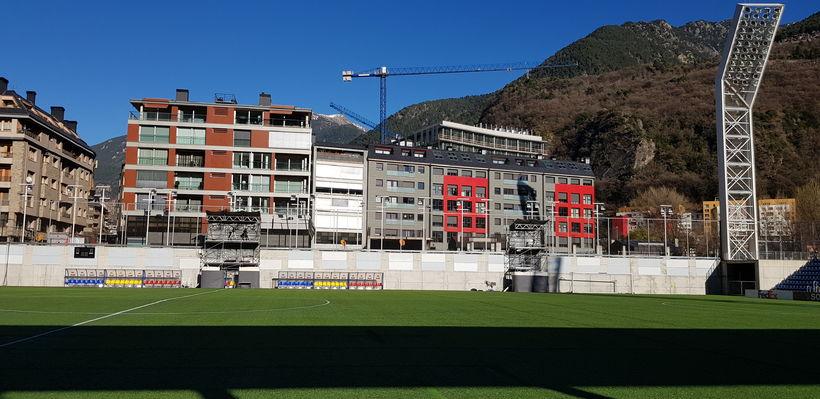 Estadi Nacional er aðeins fimm ára gamalt mannvirki og Andorra ...