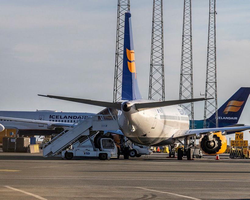 Gengi Icelandair hefur rokið upp síðustu daga þrátt fyrir vandræðin ...