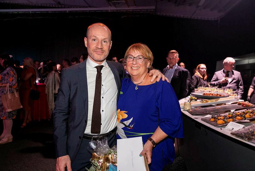 Finnur Oddsson og Halldóra G. Ragnarsdóttir.