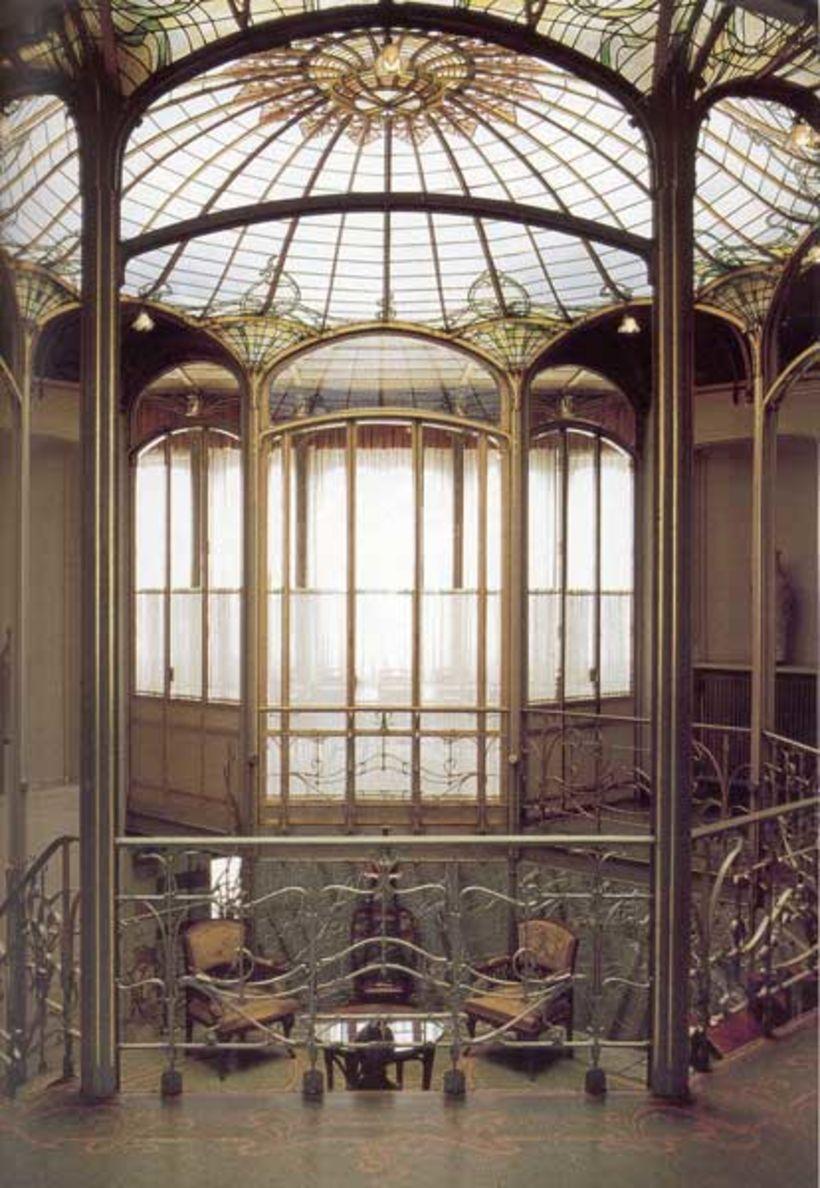 Van Eetvelde-húsið er af mörgum talið meistaraverk Horta.