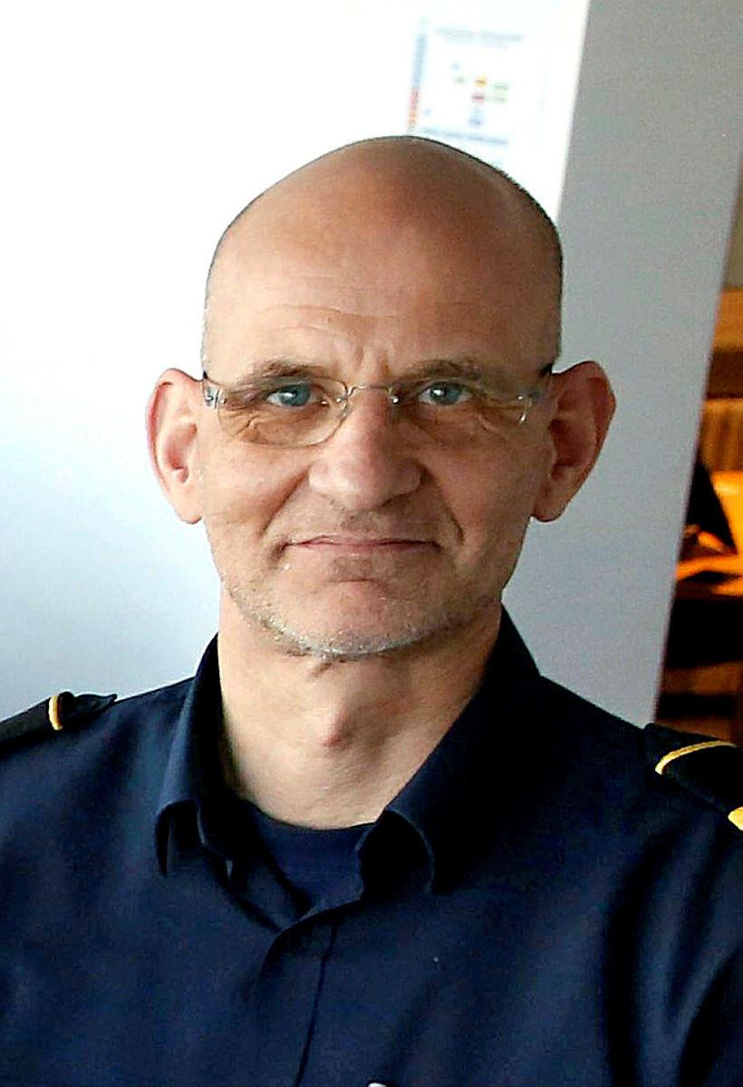 Jón Viðar Matthíasson, slökkviliðsstjóri Slökkviliðs höfuðborgarsvæðisins.