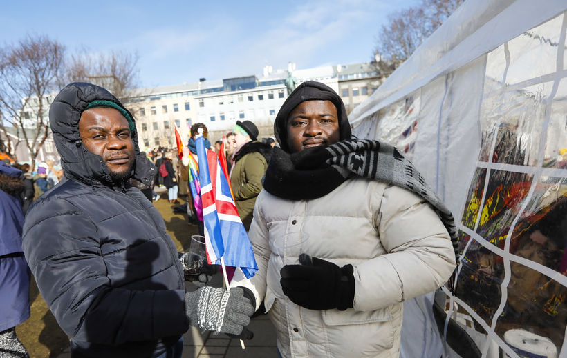 Samuel and Moses are asylum seekers from Nigeria.