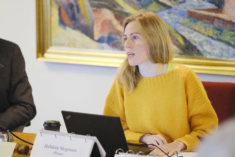 Halldóra Mogensen, formaður velferðarnefndar Alþingis.