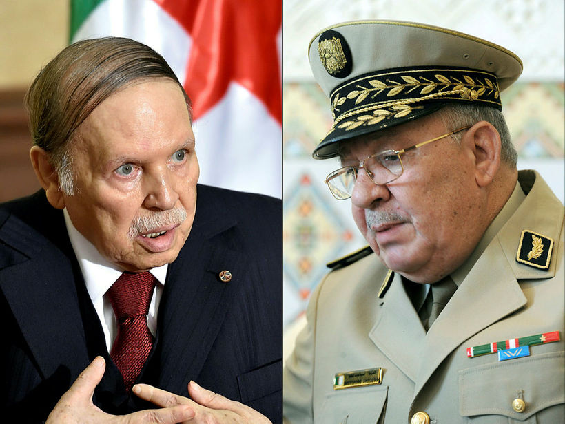 Abdelaziz Bouteflika, forseti Alsír, sækist eftir fimmta kjörtímabilinu í forsetakosningum ...