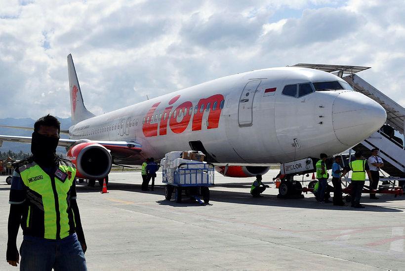 Allir 189 um borð í vél Boeing 737 MAX 8-Lion ...