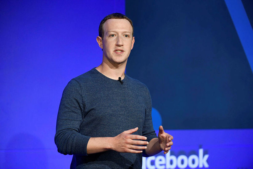 Mark Zuckerberg, stofnandi Facebook.