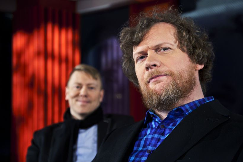 Sigurjón og Jón Gnarr í Tvíhöfða.