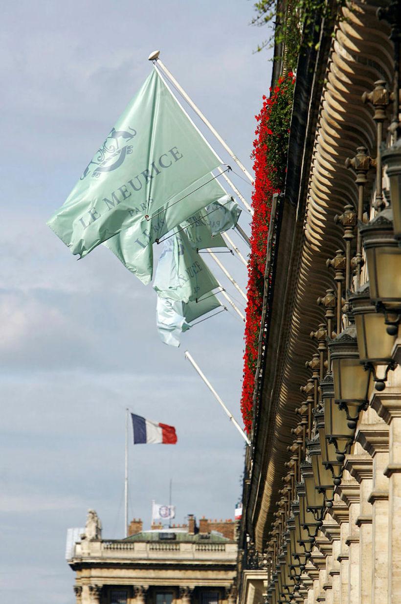 Meurice er 5 stjörnu hótel í París sem er í ...