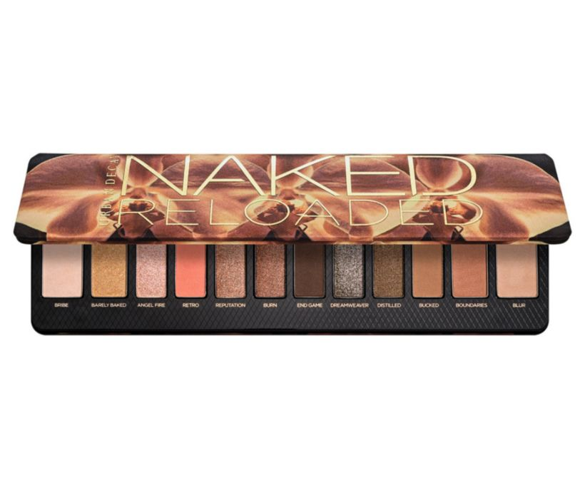 Urban Decay Naked Reloaded Neutral Eyeshadow Palette.
