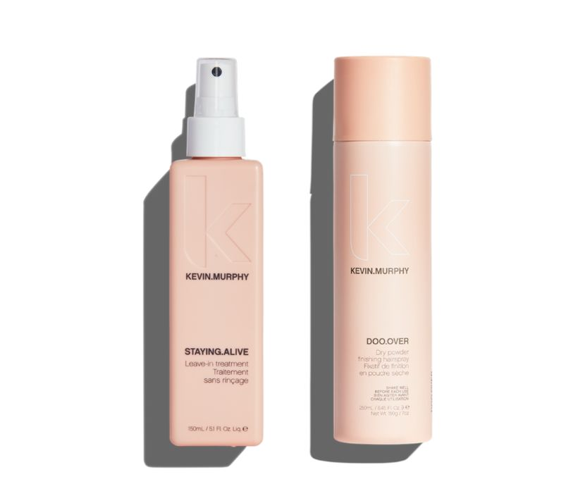 Kevin.Murphy Staying.Alive Leave-In Treatment og Kevin.Murphy Doo.Over Dry Powder Finishing ...