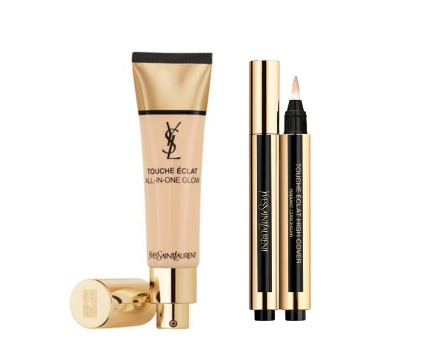 YSL Touche Éclat All-In-One Glow Tinted Moisturizer og YSL Touche ...