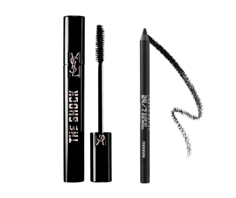 YSL The Shock Waterproof Mascara og Urban Decay 24/7 Glide-On ...