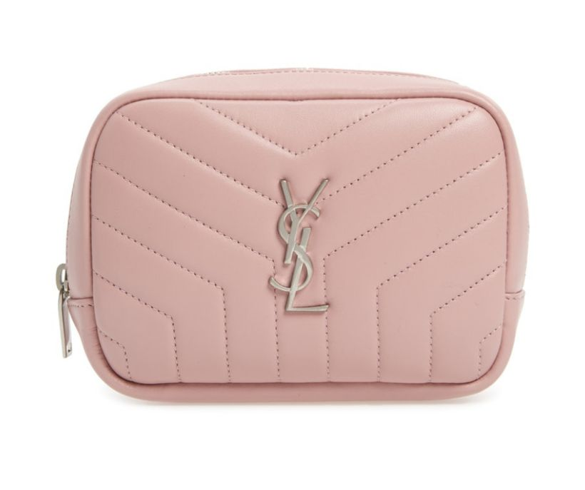 Saint Laurent LouLou Cosmetics Bag (Nordstrom).
