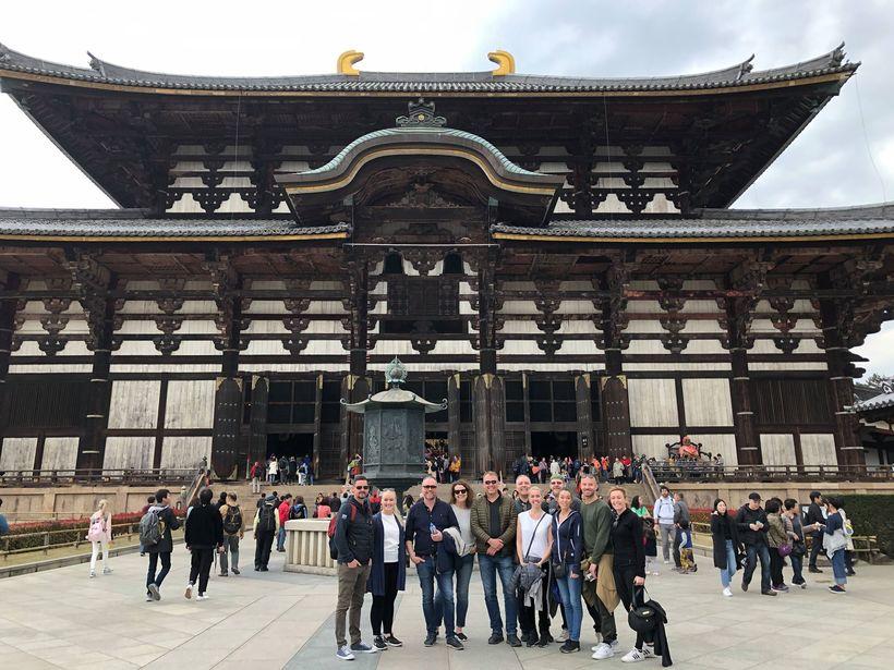 Gömul hof. Í Nara í Japan gafst tækifæri til að ...