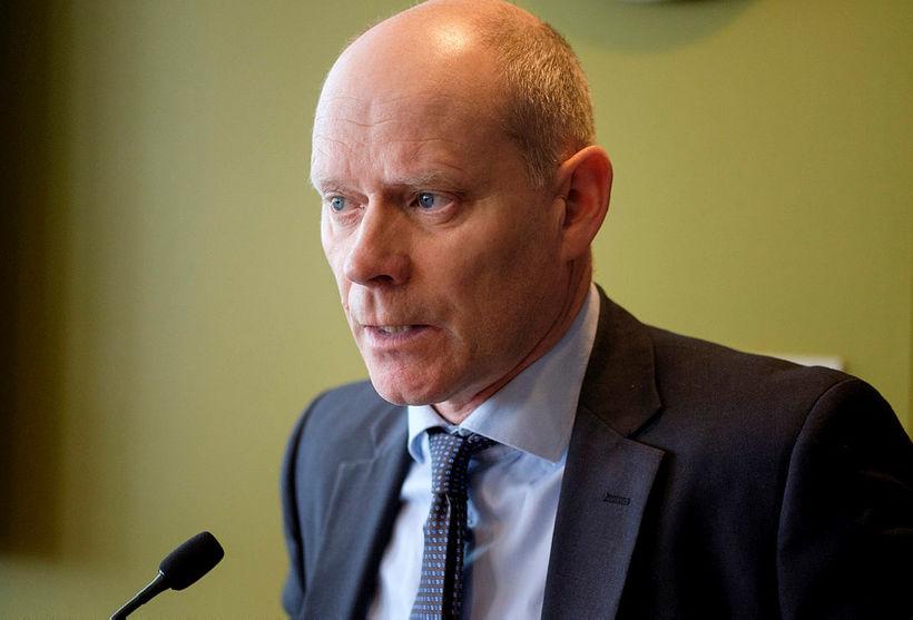Chief Superintendent Karl Steinar Valsson.