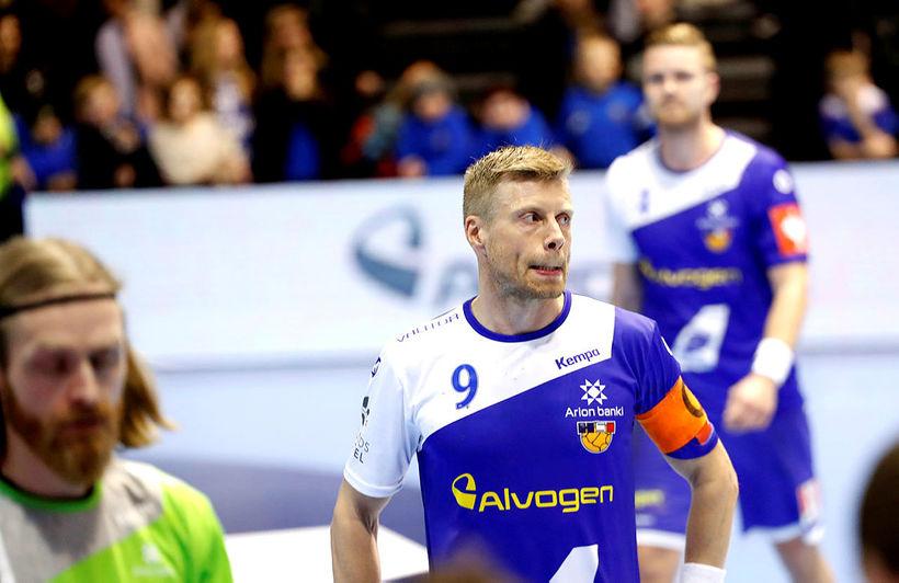 Guðjón Valur Sigurðsson, fyrirliði íslenska landsliðsins í handknattleik.